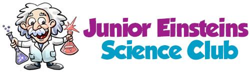 Junior Einsteins Science Club Logo