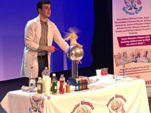 James Murtagh , Junior Einsteins Science club Meath franchisee, Ireland