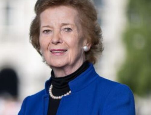 A message from Mary Robinson , First woman President of Ireland and former UN High Commissioner for Human Rights; Chair of The Elders; a passionate, forceful advocate for gender equality, women's participation in peace-building and human dignity.