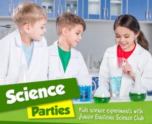 Junior Einsteins Science parties