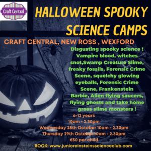 halloween camp for kids ireland