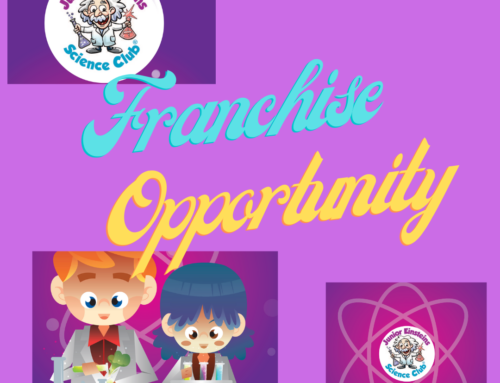 Help children to develop a love of science and learning with your own Junior Einsteins Science Club franchise business!