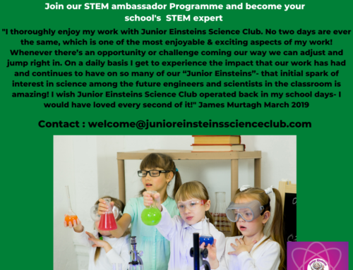 STEM ambassador for Primary School Teachers Ireland