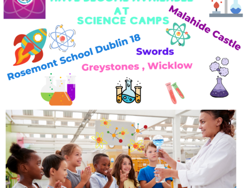 Spaces have become available on some Science Summer Camps Dublin & Greystones