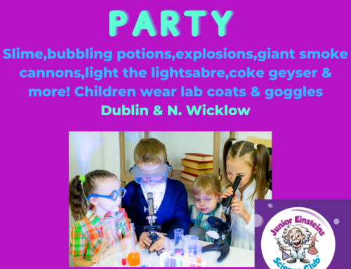 Science Birthday Party for Kids