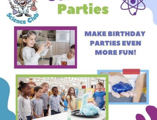 Science Birthday Parties Northwest London