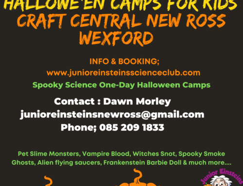 Halloween Camps Craft Central New Ross Wexford