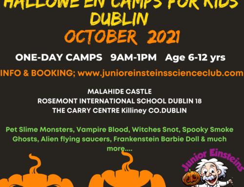 Halloween camps Dublin