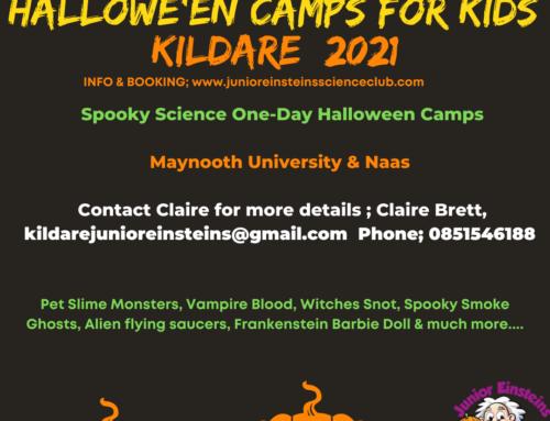 Halloween Camps Kildare 2021