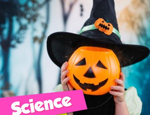 SPOOKY SCIENCE HALLOWE'EN CAMPS for kids 6-12 yrs