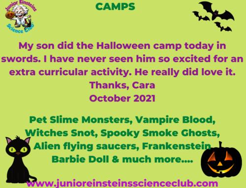 Happy Mum. Happy Child. Halloween camps 2021 !